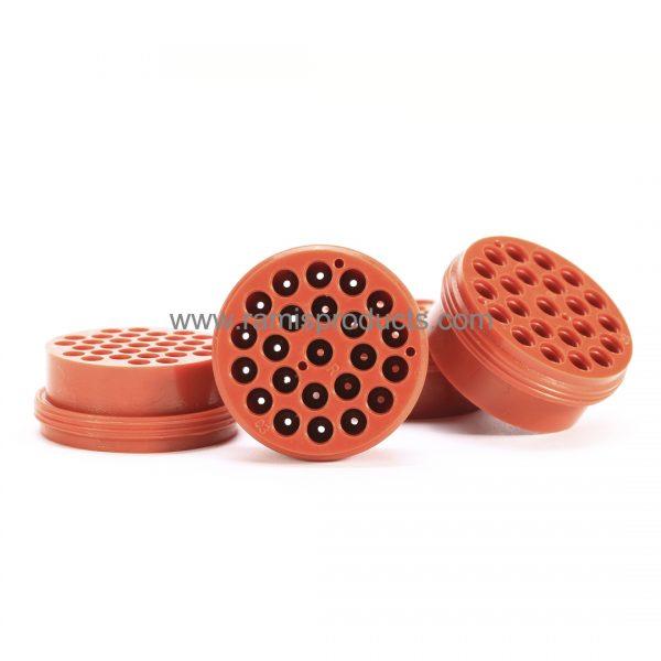 Liquid silicone rubber parts,23 way connector seal